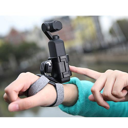 Action Camera Hand and Wrist Strap Product Image (Secondary Image 1)