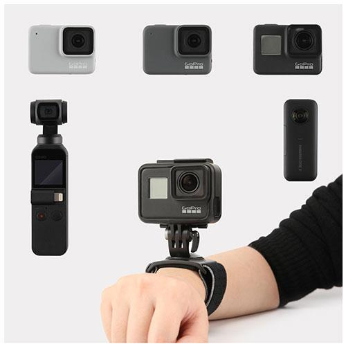 Action Camera Hand and Wrist Strap Product Image (Secondary Image 3)