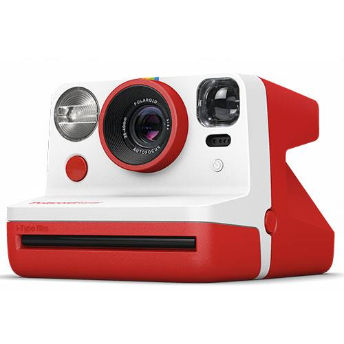 Now i-Type Instant Camera in Red Product Image (Primary)