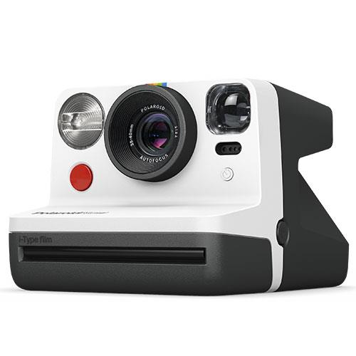Now i-Type Instant Camera in Black and White Product Image (Secondary Image 1)
