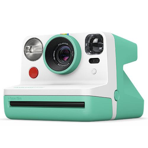 Now i-Type Instant Camera in Mint Green Product Image (Secondary Image 1)