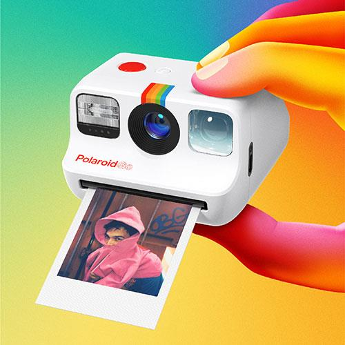 Go Instant Camera in White Product Image (Secondary Image 4)