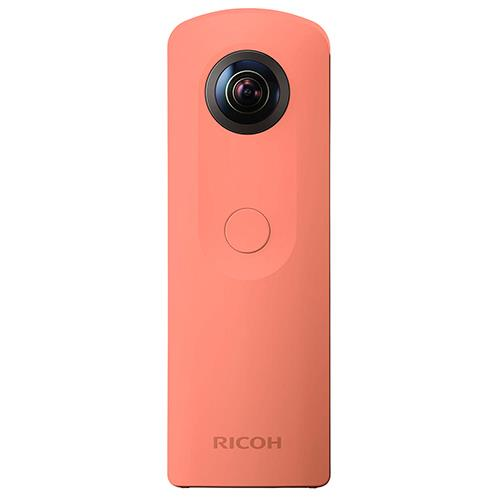 Theta SC360 Action Cam in Pink Product Image (Primary)