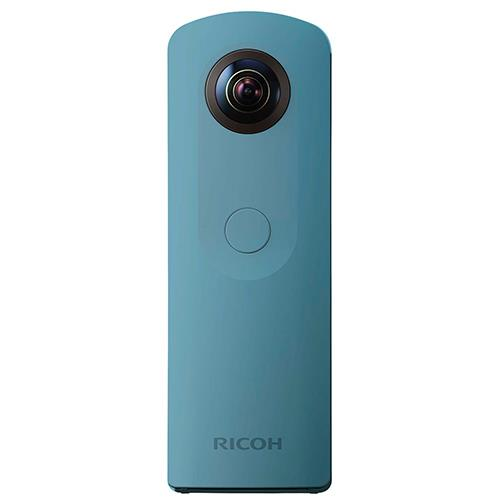 Theta SC360 Action Cam in Blue Product Image (Primary)