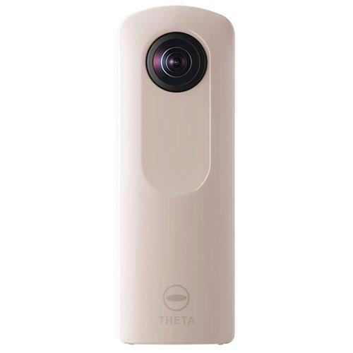 Theta SC2 360 Action Camera in Beige Product Image (Primary)