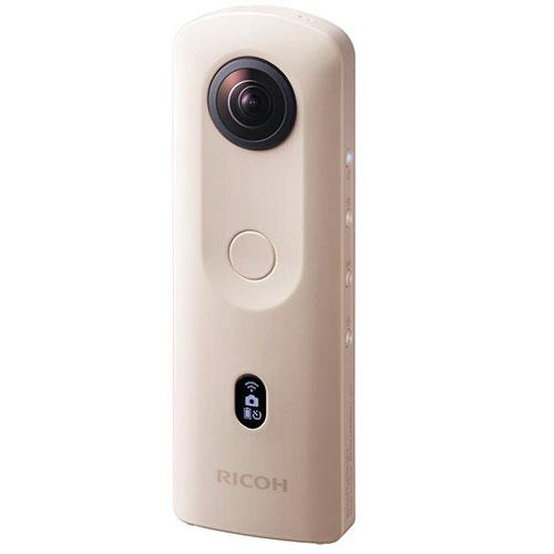 Theta SC2 360 Action Camera in Beige Product Image (Secondary Image 1)