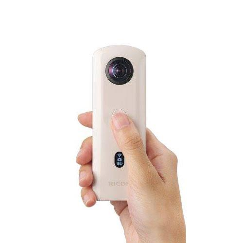Theta SC2 360 Action Camera in Beige Product Image (Secondary Image 2)