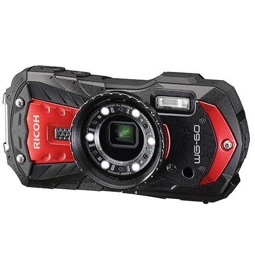 WG-60 Digital Camera in Red Product Image (Secondary Image 3)