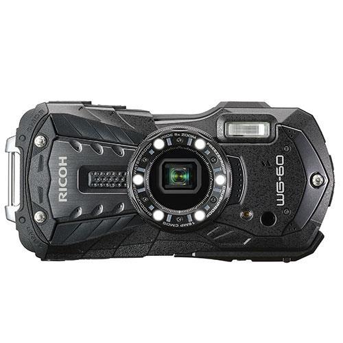 WG-60 Digital Camera in Black Product Image (Primary)