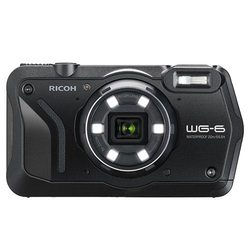 WG-6 Digital Camera in Black Product Image (Primary)