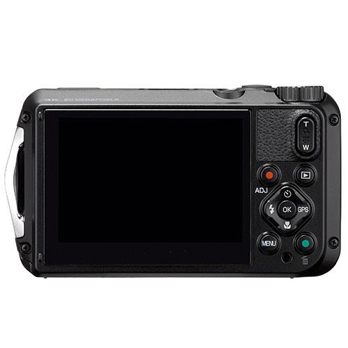 WG-6 Digital Camera in Black Product Image (Secondary Image 1)