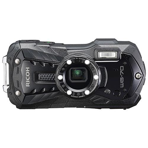 WG-70 Digital Camera in Black Product Image (Primary)