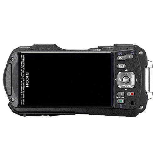 WG-70 Digital Camera in Orange Product Image (Secondary Image 1)