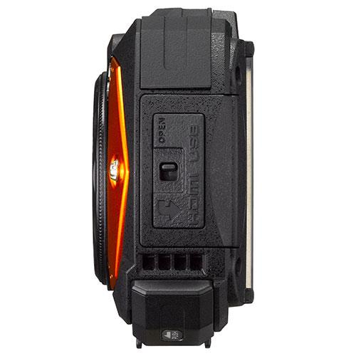 WG-70 Digital Camera in Orange Product Image (Secondary Image 2)