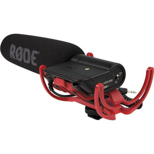 VideoMic with Rycote Lyre Suspension System Microphone Product Image (Primary)