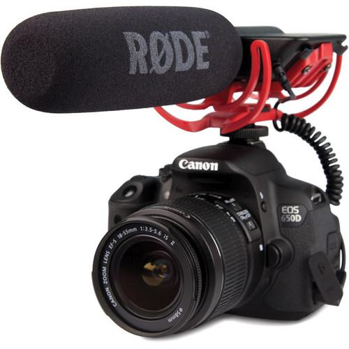 VideoMic with Rycote Lyre Suspension System Microphone Product Image (Secondary Image 1)