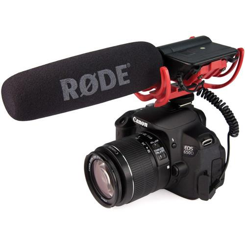 VideoMic with Rycote Lyre Suspension System Microphone Product Image (Secondary Image 2)