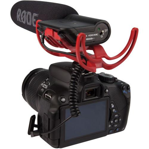 VideoMic with Rycote Lyre Suspension System Microphone Product Image (Secondary Image 3)