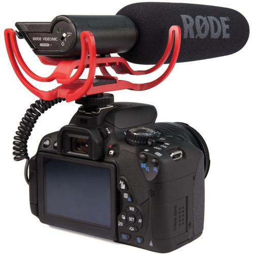 VideoMic with Rycote Lyre Suspension System Microphone Product Image (Secondary Image 4)