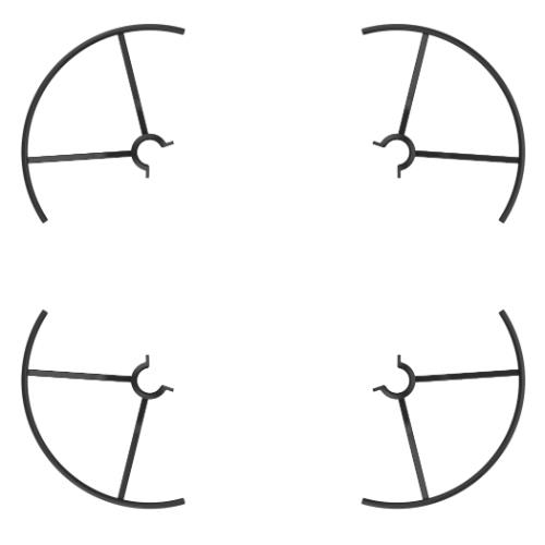 Tello Part 3 Propeller Guards Product Image (Secondary Image 5)