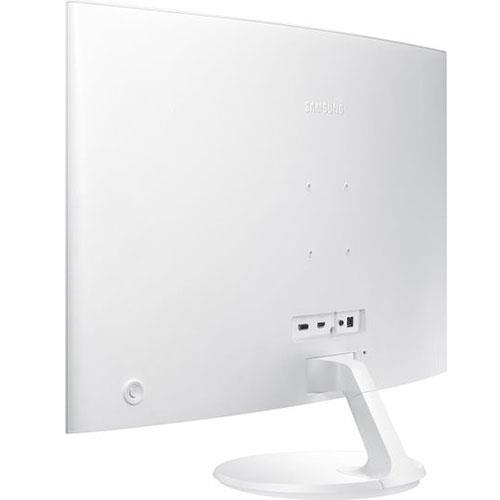 32-inch Curved Full HD Monitor in White LC32F391FWUXEN - Ex Display Product Image (Secondary Image 2)