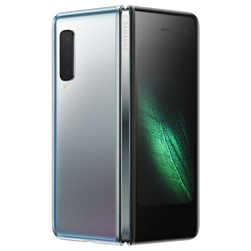 Galaxy Fold 512GB Mobile Phone in Silver Product Image (Secondary Image 1)