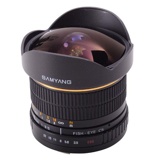 8mm f/3.5 UMC Fisheye CS II Lens (Nikon F) Product Image (Primary)