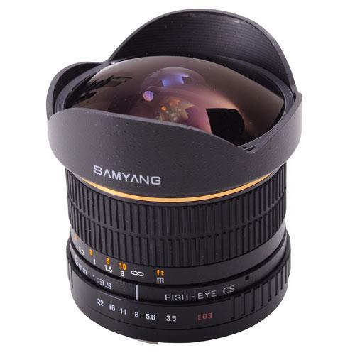 8mm f/3.5 UMC Fisheye CS II Lens (Canon EF) Product Image (Primary)