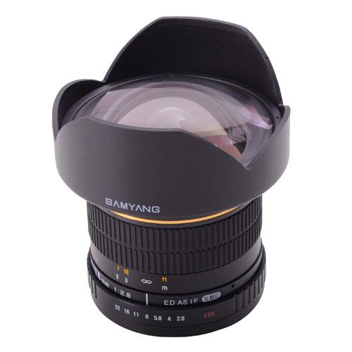Samyang 14mm f/2 8 ED AS IF UMC Lens (Nikon F) - Jessops