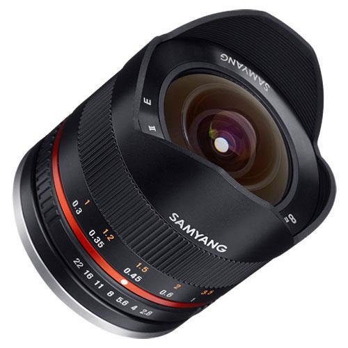 8mm f2.8 UMC Fish-eye II Lens in Black - Fujifilm X Mount Product Image (Secondary Image 2)