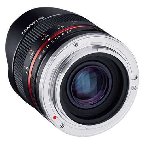 8mm f2.8 UMC Fish-eye II Lens in Black - Fujifilm X Mount Product Image (Secondary Image 3)