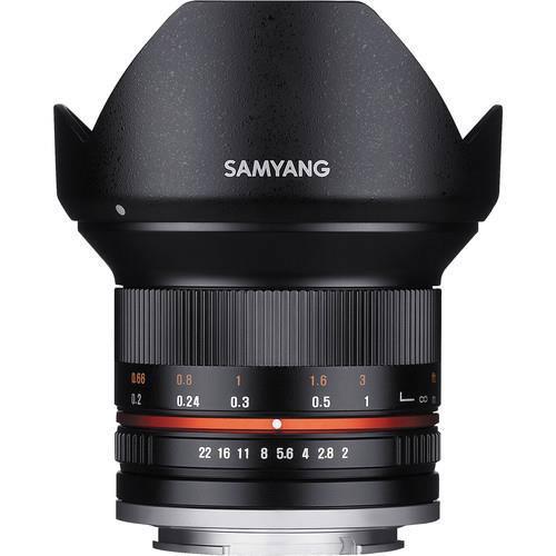 12mm f2.0 NCS CS Lens - Fujifilm X Mount Product Image (Secondary Image 1)