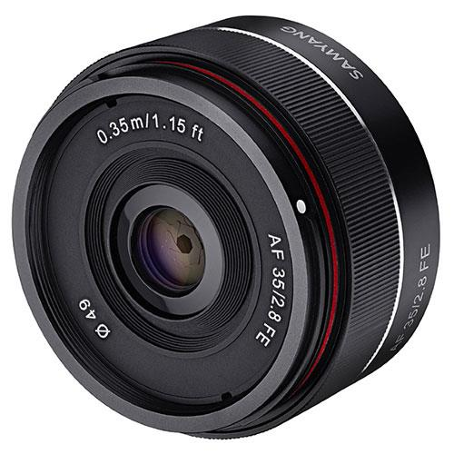 AF35mm f2.8 Lens - Sony FE Product Image (Primary)