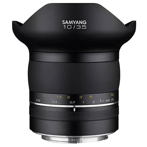 XP 10mm f/3.5 Lens for Canon EF Product Image (Primary)