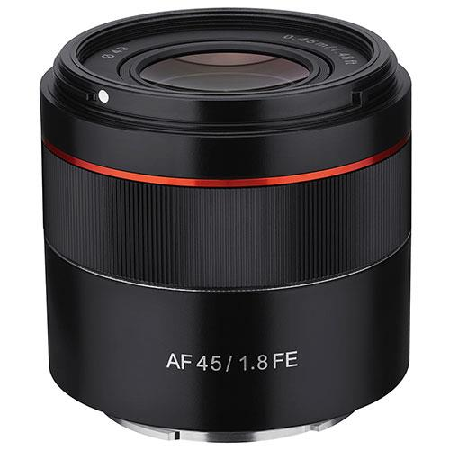 AF 45mm f/1.8 Lens Sony FE Product Image (Primary)