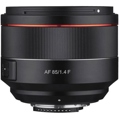 AF 85mm f1.4 Lens Nikon F Mount Product Image (Primary)