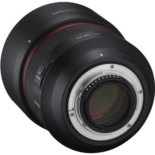 AF 85mm f1.4 Lens Nikon F Mount Product Image (Secondary Image 1)