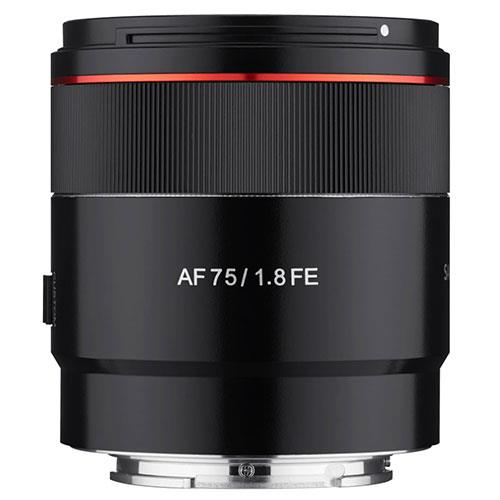 AF 75mm F1.8 Lens for Sony FE Product Image (Primary)