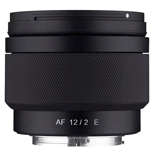 AF 12mm F2.0 Lens Sony E-Mount Product Image (Secondary Image 1)