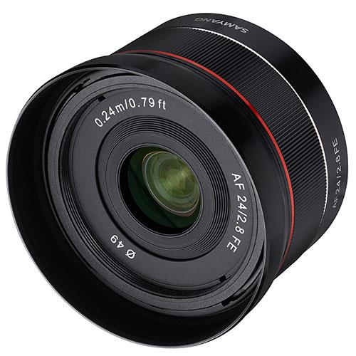 AF 24mm F/2.8 FE Lens for Sony E-Mount Product Image (Secondary Image 1)