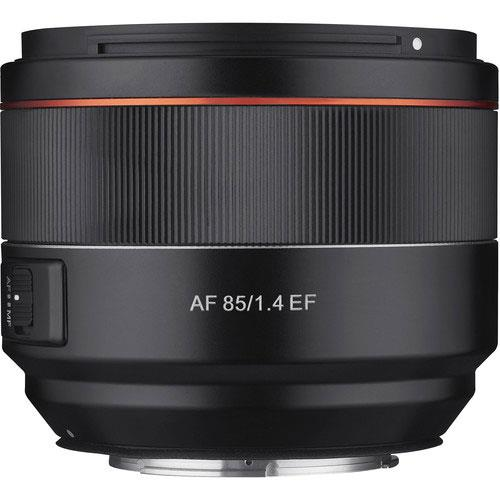 AF 85mm f1.4 Lens Canon EF Mount Product Image (Primary)