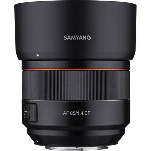 AF 85mm f1.4 Lens Canon EF Mount Product Image (Secondary Image 3)
