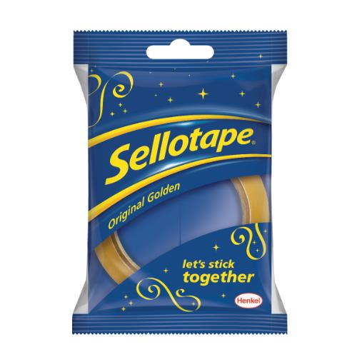 Sellotape Org Gold XMas 24x50m Product Image (Primary)