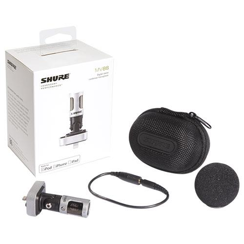 MV88 Digital Stereo Condenser Microphone Product Image (Secondary Image 2)