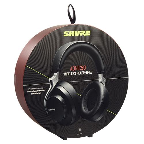 Aonic 50 Wireless Noise Cancelling Headphones in Black Product Image (Secondary Image 3)