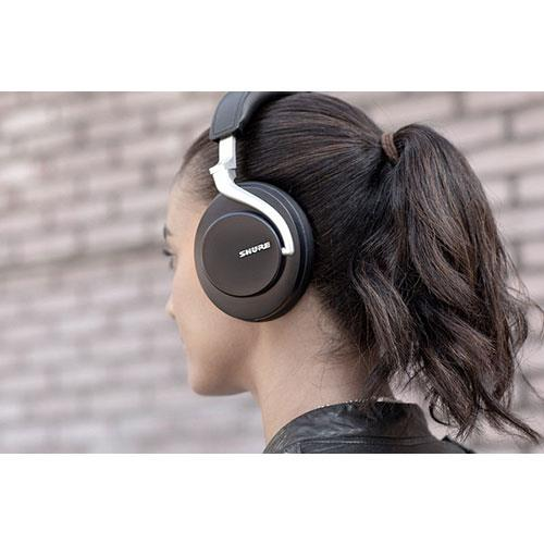 Aonic 50 Wireless Noise Cancelling Headphones in Black Product Image (Secondary Image 5)