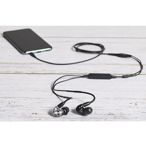Aonic 4 Sound Isolating Earphones in Black Product Image (Secondary Image 2)