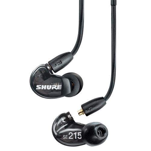 Aonic 215 Sound Isolating Earphones in Black Product Image (Secondary Image 1)