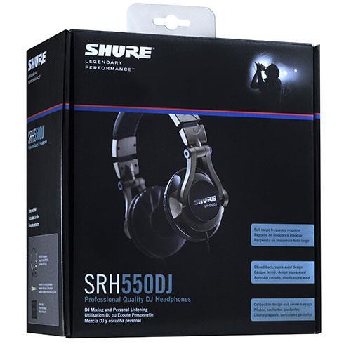SRH550DJ Professional Quality DJ Headphones Product Image (Secondary Image 1)