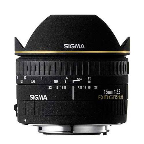 15mm f2.8 EX DG Diagonal Fisheye Lens (Canon EF) Product Image (Primary)